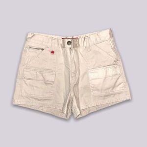 tan khaki zana di shorts size 3